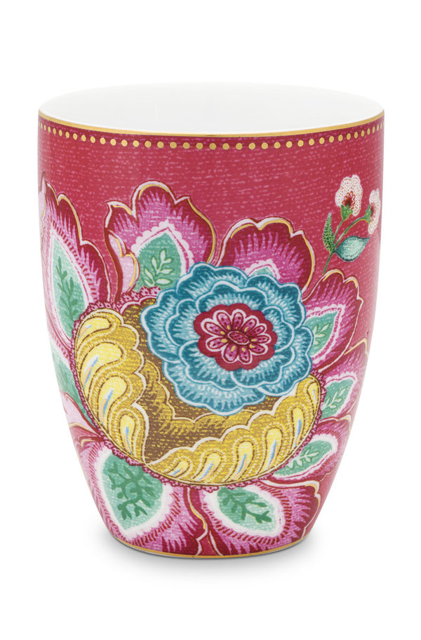 TRINKBECHER - JAMBO FLOWER - PINK - BY PIP STUDIO