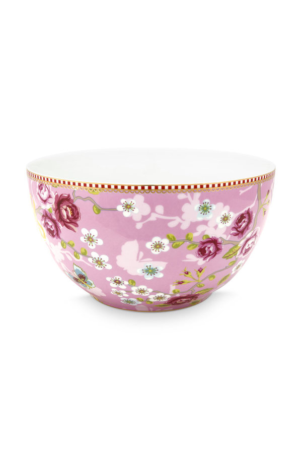 BOWL - SCHALE - CHINESE ROSE PINK - 18 CM  -  BY PIP STUDIO