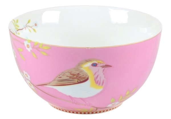 BOWL - SCHALE -  EARLY BIRD PINK 15CM  -  BY PIP STUDIO