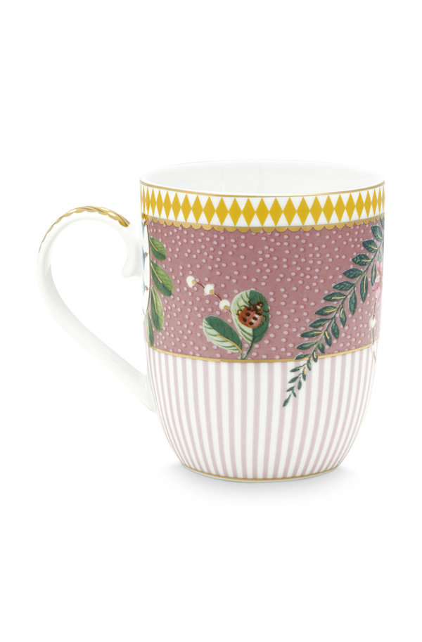 MUG SMALL - KLEINER BECHER - LA MAJORELLE PINK 145ML - BY PIP STUDIO