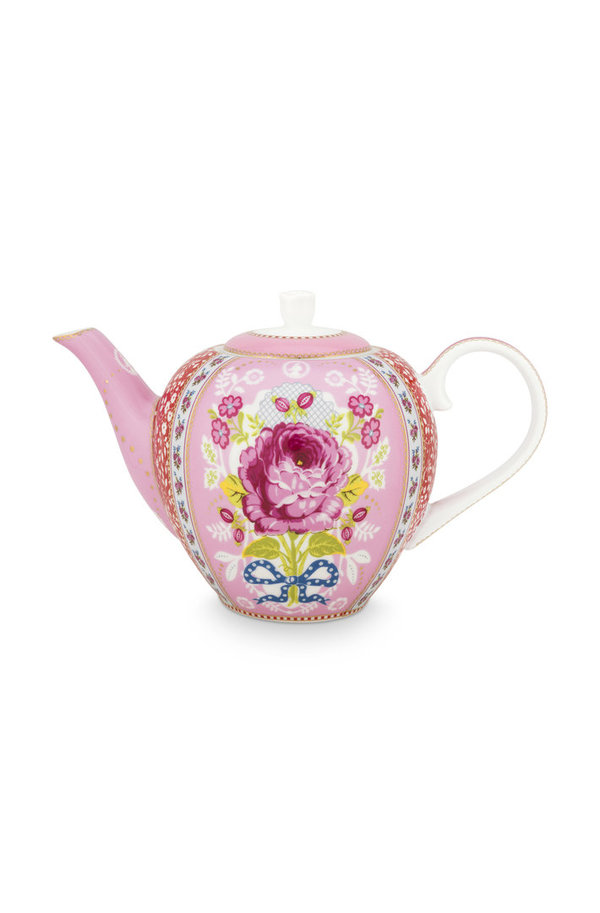 TEA POT  - TEEKANNE - ROSE PINK 1.6 LTR  -  BY PIP STUDIO