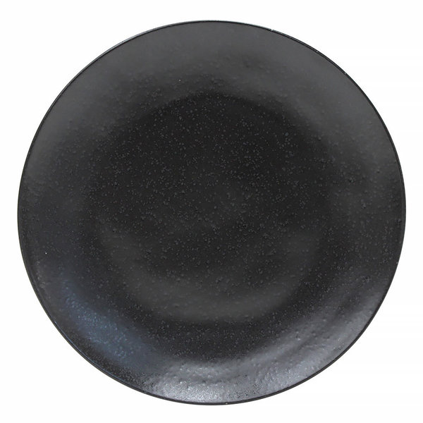 DINNER PLATE RIVIERA 27 CM - GROSSER SPEISETELLER- SABLE NOIR - BY COSTA NOVA