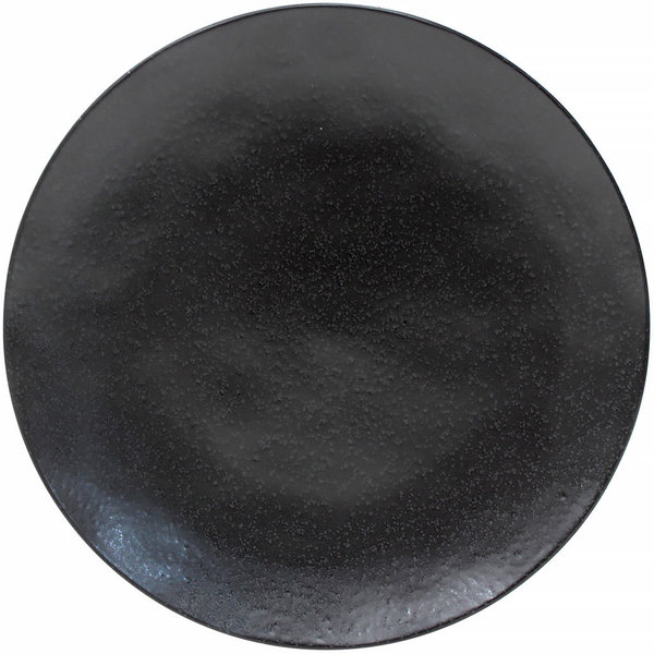 CHARGER PLATE RIVIERA 31 CM - GROSSER SERVIERTELLER- SABLE NOIR - BY COSTA NOVA