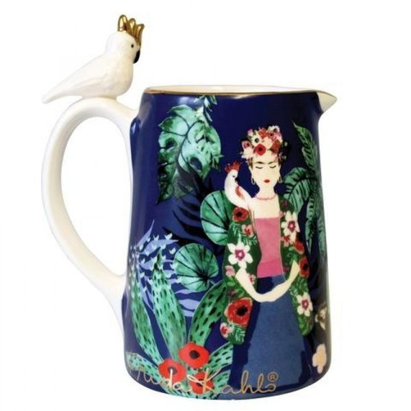 FRIDA KAHLO TROPICAL JUG - FRIDA KAHLO TROPICAL KANNE BY HOUSE OF DISASTER