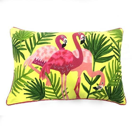 CUSHION - KISSEN - 40/60CM -  FLAMINGO - BY ONLY NATURAL